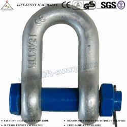 G2150-nous, type à boulon matricé la goupille de sécurité des manilles de chaîne