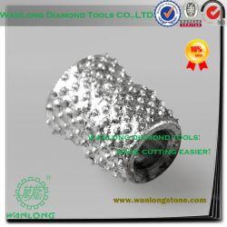 De concrete Scherpe Draad van de Diamant soldeerde de Parels van de Diamant voor de Mijnbouw van de Steen