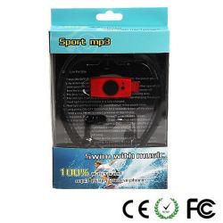 Schwimmender StereoMP3-Player des Kopfhörer-4GB/8GB/16GB