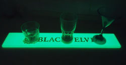 선전용 선물 LED PVC 고무 바 매트