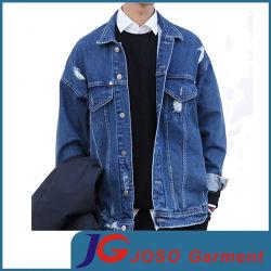 Простой Ретро Biker Джинсовая куртка для мужчин (JC7046)