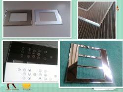 Wall Switches, Electrical Switches Glass Plate를 위한 유리제 Plate