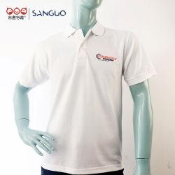 La impresión de camisetas al por mayor Mens Polo con bordado personalizado