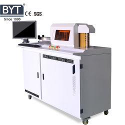 Byt CNC 아크릴 LED 표시 알루미늄 단면도 코일 손질 벤더 공구 광고를 위한 자동적인 3D 채널 편지 구부리는 기계