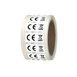 Venta caliente adhesivo de alta calidad CE Etiqueta RoHS