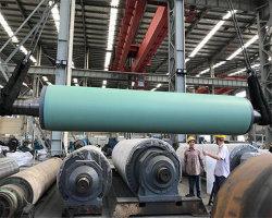 Máquina de Papel rolo de sucção a vácuo de borracha para a Fábrica de Papel