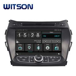 Witson alquiler de DVD para Hyundai IX45 2013 coche GPS DVD