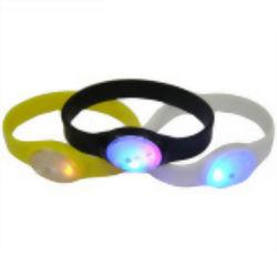 Silicona LED personalizados pulsera de goma y Wrisband (YB-HD-117)