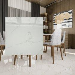 最もよい買物24X24の床の白い磁器のカラーラの大理石のタイルの製造業者