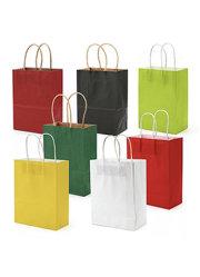 Umweltfreundlicher Papierbeutel mit Packpapier-Beutel Firmenzeichen-Druck-Naturbrown-