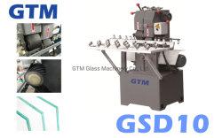 Machine de meulage de la courroie de sable de verre/manual/