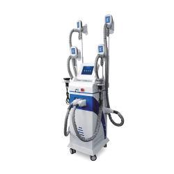Crio Lipo grasa del cuerpo de congelación de la máquina de adelgazamiento con 4pcs Cryo RF cavitación Lipolaser asas