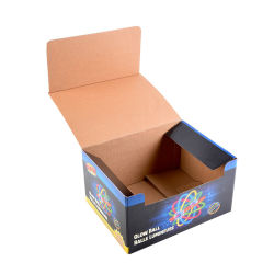 Boîte d'affichage du papier d'impression personnalisé Papier ondulé