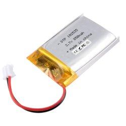 Bewegliche Lithium-Plastik-Batterie der nachladbaren Batterie-102535 3.7V 850mAh