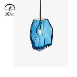 De in het groot Lamp van de Tegenhanger van het Glas van het restaurant van de Winkel van de Koffie van het Meubilair Lichte