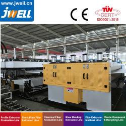 PET Plastic Hollow des Jwell PC-pp. Querschnitt Plate Sheet Extrusion Line für Reusable Container, Packing Fall, Clapboard, Packing Plate und Culet 2100mm 1220mm