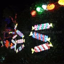 2D-конфеты стиле фонари праздник LED полимера рождественские украшения