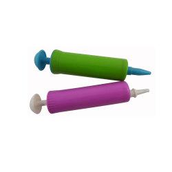 6 pouces en plastique de la main à boisseau sphérique mini ballon de foot pour la pompe à air