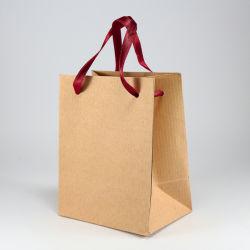 Super толще природных бумаги рождественские подарки настоящей мешки с логотипом