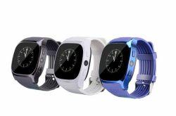 Atividade de Encaixe do corpo Tracker Smartwatch Fitness com o cartão SIM de telefone móvel