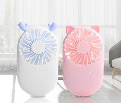 2019 Mini portátil Ventilador de bolsillo USB de viaje de verano fresco del ventilador de mano