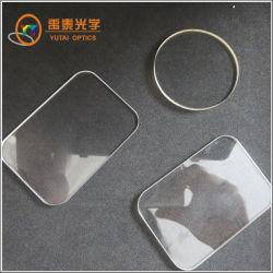 CaF2 Mgf2 BK7 Quartz ronde K9 fenêtres en verre optique