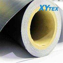 Volver al aire libre Banner negro recubierto de material flexible de PVC para la impresión digital Banner