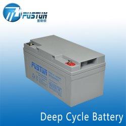 太陽ライトPTC65-12-HのためのSLA VRLAの深サイクルの長い生命デザイン蓄電池