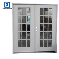 Limpiar la casa móvil Fangda vidrio exterior puertas francesas