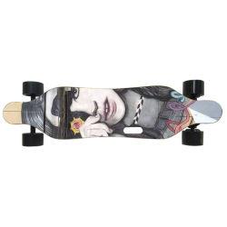 Commerce de gros 4 roues électrique Batterie amovible de skateboard Mini Longboard