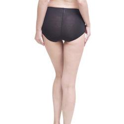La mode mi de taille assez sexy culotte transparente culottes de haute qualité sous-vêtements femmes Lingerie Logo personnalisé jolies femmes mémoires culotte solides mémoires respirant