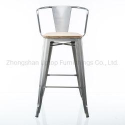 Restaurant fauteuil Fauteuil, Vintage bois tabouret de barre de siège avec le bras de fauteuils de restaurant