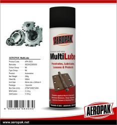 De AntiroestSmeermiddelen Multilube van de Producten van de Zorg van de Auto van Aeropak