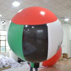Ballon van de Hemel van het Helium van pvc de Opblaasbare/de Grote Ballon van de Vlag van het Gebied van het Helium van de Reclame