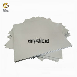Fertigung 99.95% Wolframplatten, reine Wolframblätter