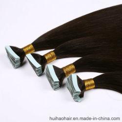 Beste verkaufen100% Europäer-Haar-Haut-einschlaghaar-Extension