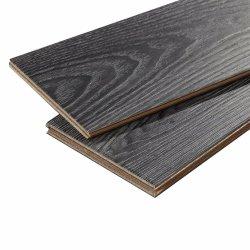 高品質の純粋で黒い方法積層物のフロアーリング