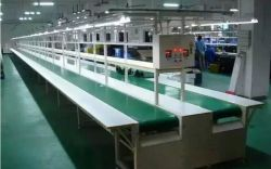 Плоский ремень конвейера производственной линии для химических продуктов