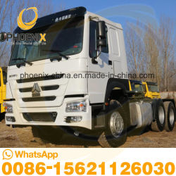 Excellent état 371HP 6X4 HOWO Sinotruk 10les roues du tracteur utilisé cheval les chariots avec des prix concurrentiels pour l'Afrique les ventes