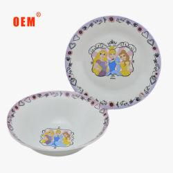Salão de porcelana prato da Placa de Ajuste do bebé por grosso de restaurante para jantar de loiça sanitária Ware de mesa