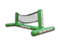 Rete gonfiabile stretta di pallavolo dell'acqua dell'aria di Channal da vendere