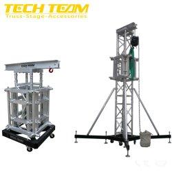 Im Freienbinder-anhebende Handkurbel-Hochleistungszeile Reihen-Aufzug-Aufsatz