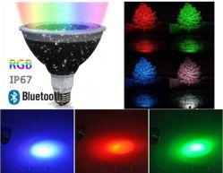 Rvb PAR38 Lampe LED étanche Outdoor Indoor paysage/feu de l'éclairage