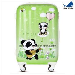 Panda en plastique Modèle 4 roues de chariot à bagages de voyage pour Unisex