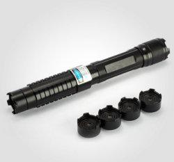 Lampe de poche High-Power portable voyant vert pointeur laser (SYSG-1875)