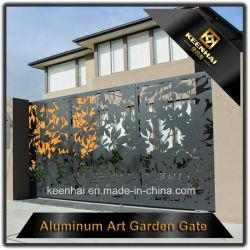Décoratifs en aluminium découpées au laser Driveway Gate