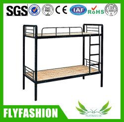Простой современный общежития двойные металлические кровати для взрослых студентов
