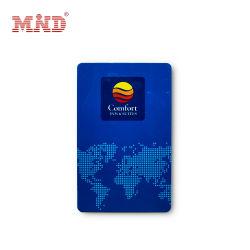 Faible prix de l'impression logo MHz 13.56PVC ID de clé de l'hôtel Carte à puce