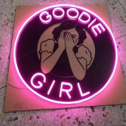 Acrílico personalizado pequeno amor levou luz néon Carta sinal para bar