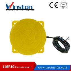 Flacher Typ induktiver Abstandssensor der Installations-Lmf40